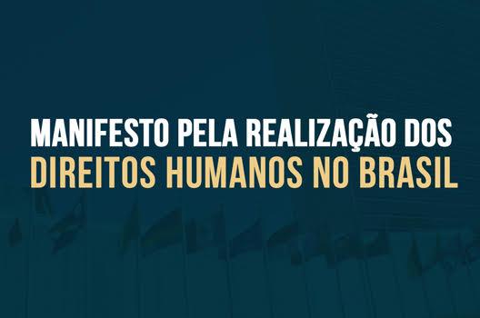 Manifesto pela Realização dos Direitos Humanos no Brasil