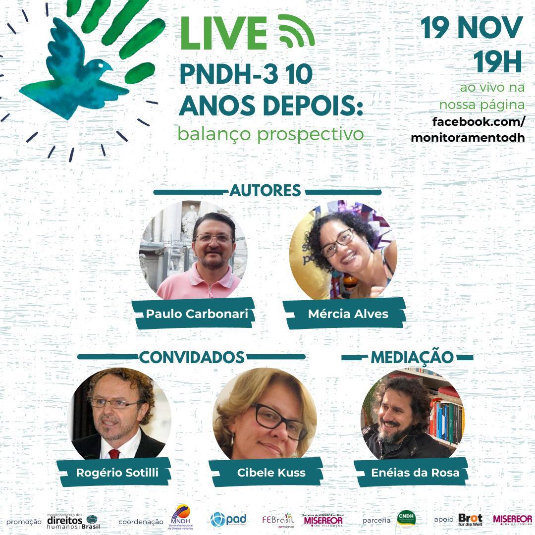 [LIVE]  Programa Nacional de Direitos Humanos: Balanço Prospectivo