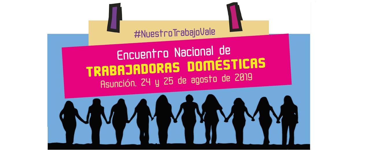 Trabajadoras Domésticas preparan Congreso Nacional en Paraguay