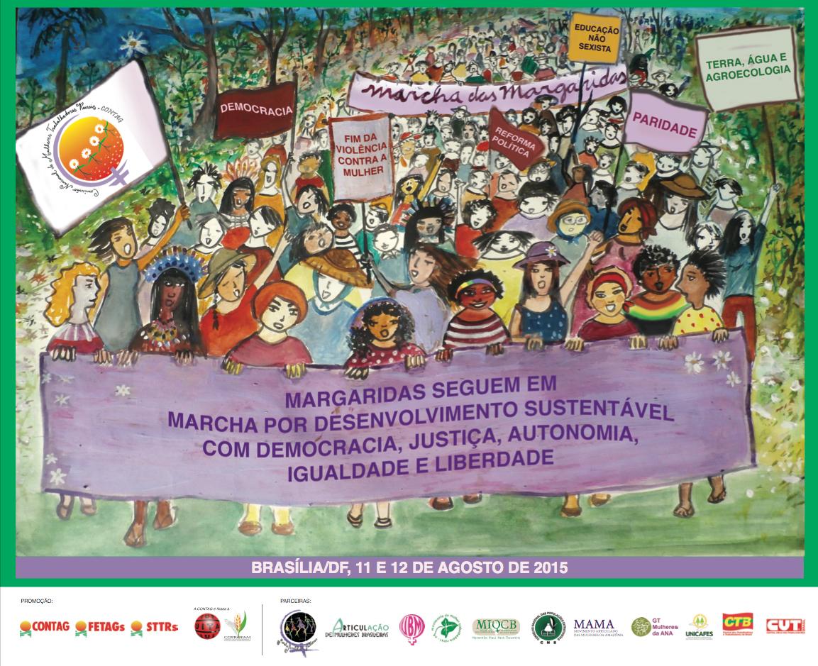 29/07/15 – SOS Corpo na Roda de Conversa da Marcha das Margaridas sobre violência, educação, direitos sexuais e direitos reprodutivos