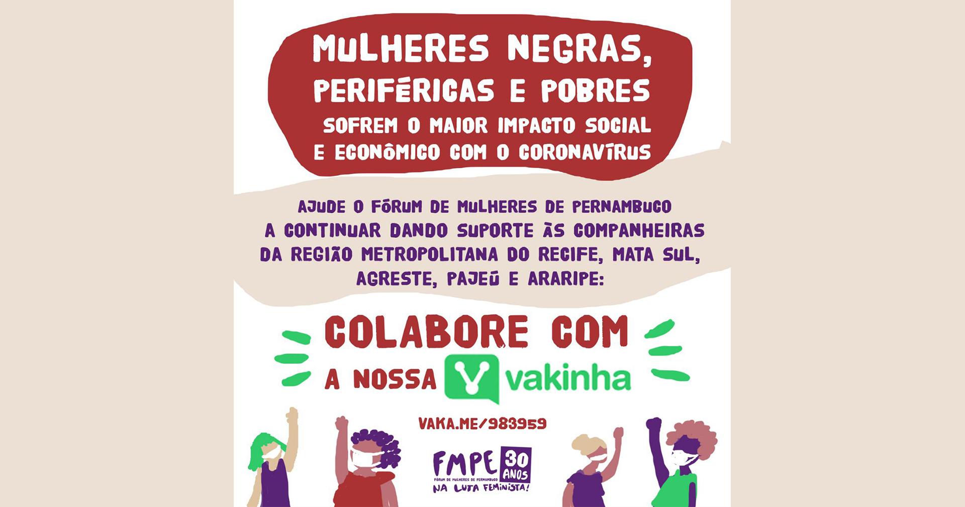 ÚLTIMOS DIAS: ajude a rede de solidariedade do FMPE