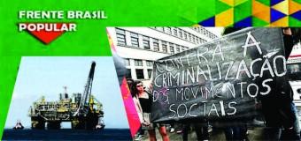 Frente Brasil Popular repudia o drástico avanço neoliberal no legislativo brasileiro