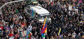 Movilización popular y feminista contra el G20