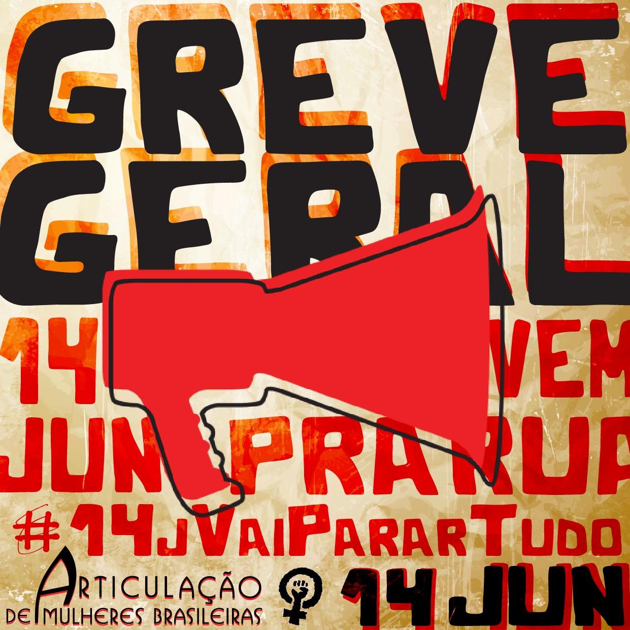 #14J #GreveGeral