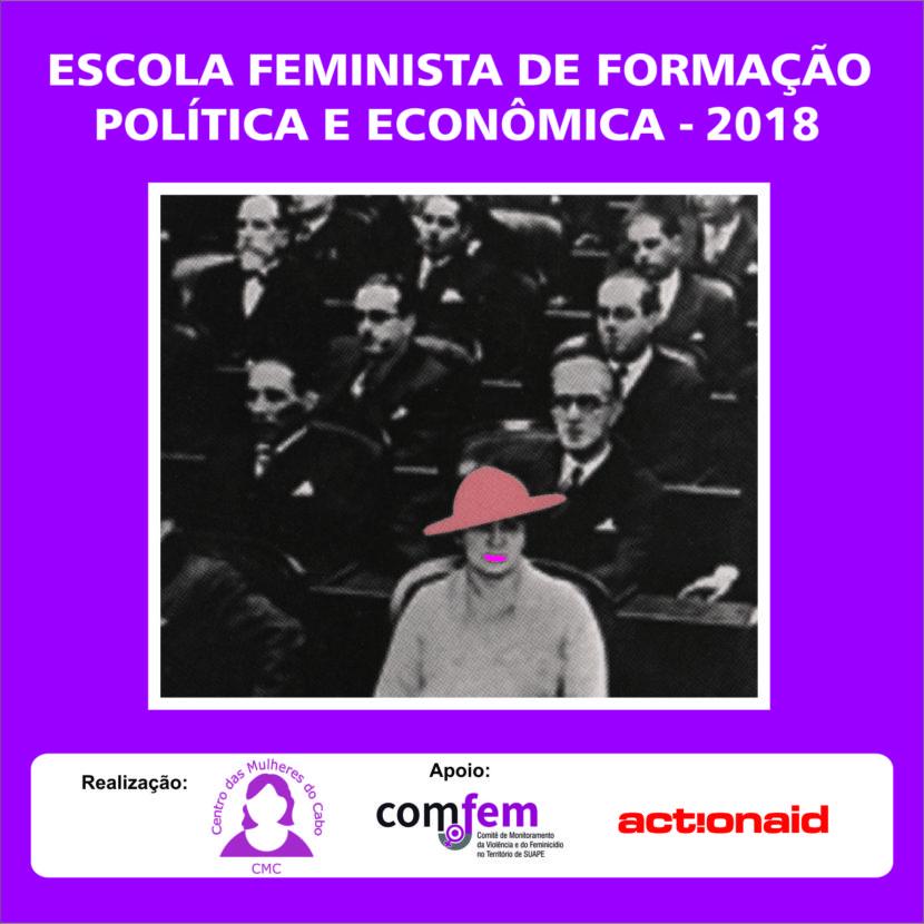 Mulheres das cidades do território de Suape participam de formação política e feminista