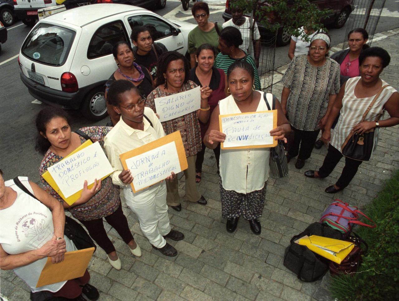 27 de abril, dia de luta das trabalhadoras domésticas