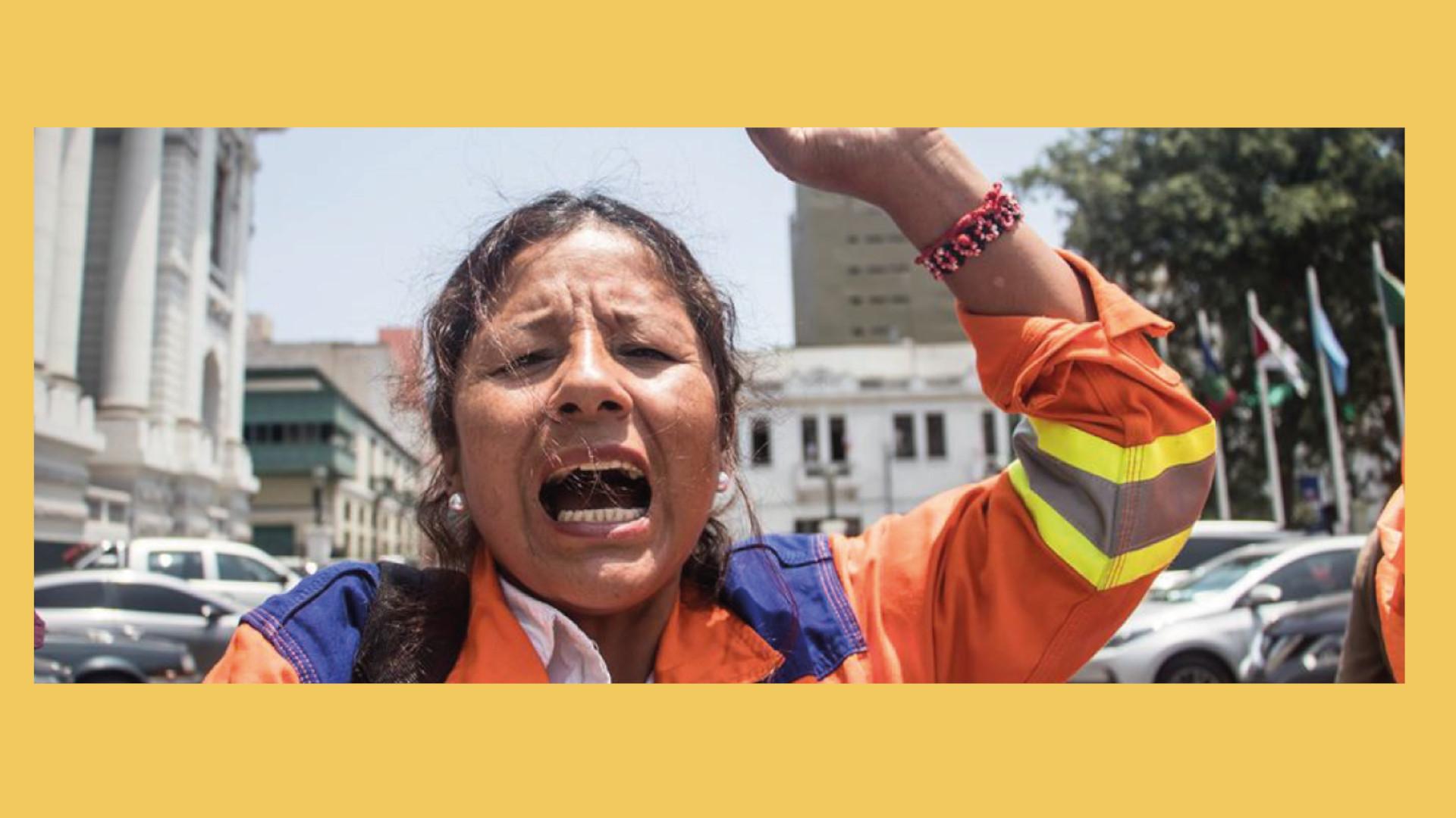 Barriendo con la injusticia y la corrupción del Perú
