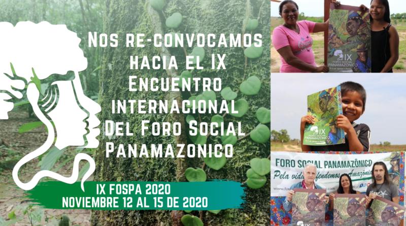 Encontro Internacional do Fórum Social Panamazônico acontece em novembro