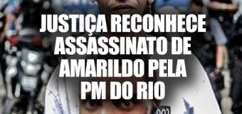 Justiça condena Estado do Rio a pagar pensão à família de Amarildo