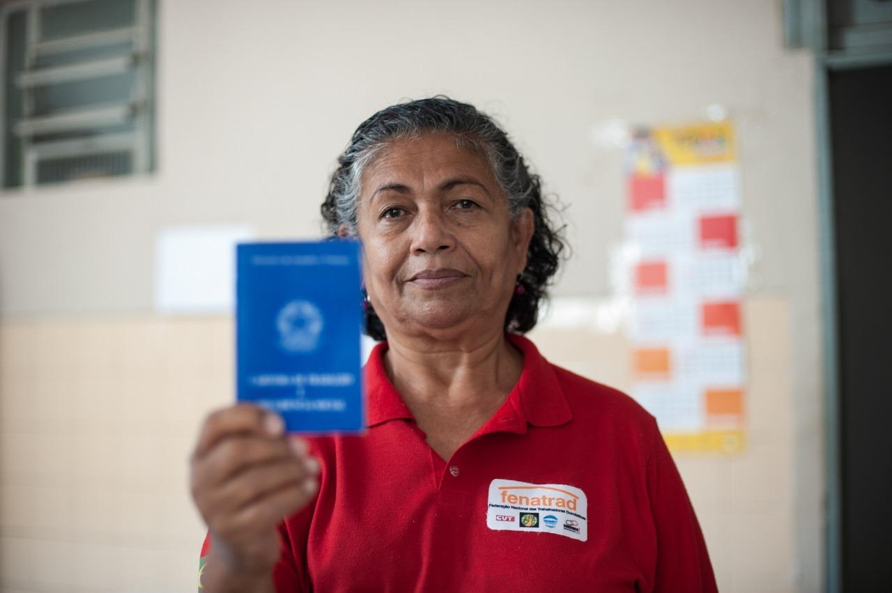 """27 de abril- Dia da Trabalhadora Doméstica- """"Não queremos ser da família"""", diz Luiza Batista, presidenta da FENATRAD"""