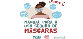 FMPE lança Manual de uso seguro de máscaras