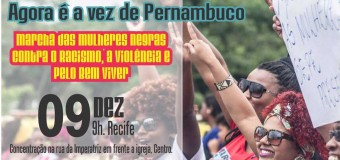 09/12/15 – Marcha das Mulheres Negras em Pernambuco