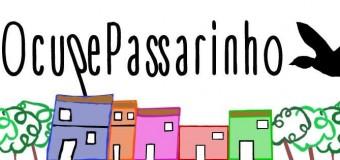 10/10/2015 – Ocupe Passarinho, a partir das 10h