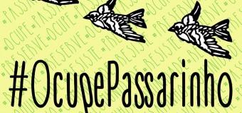Já ouviu o spot de divulgação do  Ocupe Passarinho?