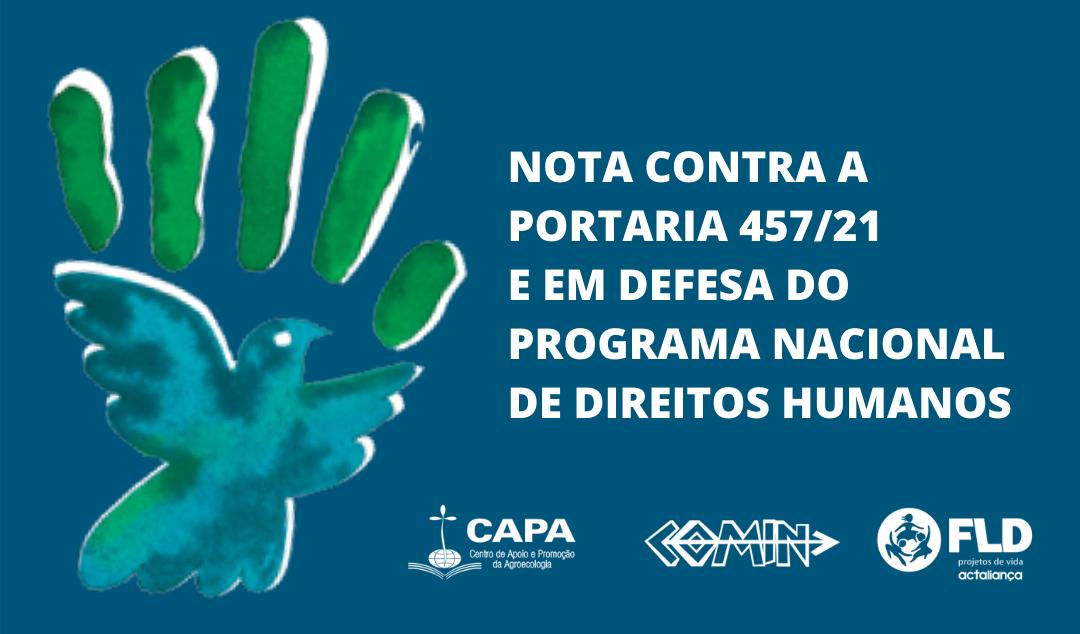 Mais de 200 organizações e entidades em defesa do Programa Nacional de Direitos Humanos (PNDH 3)