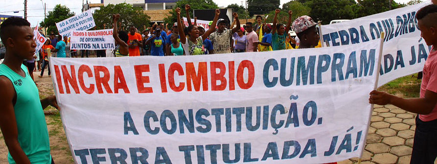 quilombolas_protesto27deabril_apoiodoprojetoSOSCORPO-CESE-UE