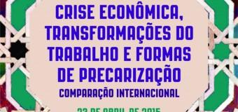 Inscrições abertas até 15/04/15 – Conferência e Seminário com Helena Hirata