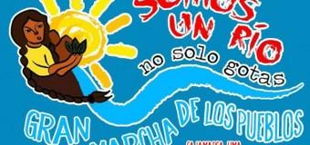 Somos um rio, não só gotas!A grande marcha dos povos a Lima (Peru)