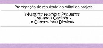 30/04/15 – Nova data para divulgação do resultado da Chamada Pública Cese – SOS Corpo