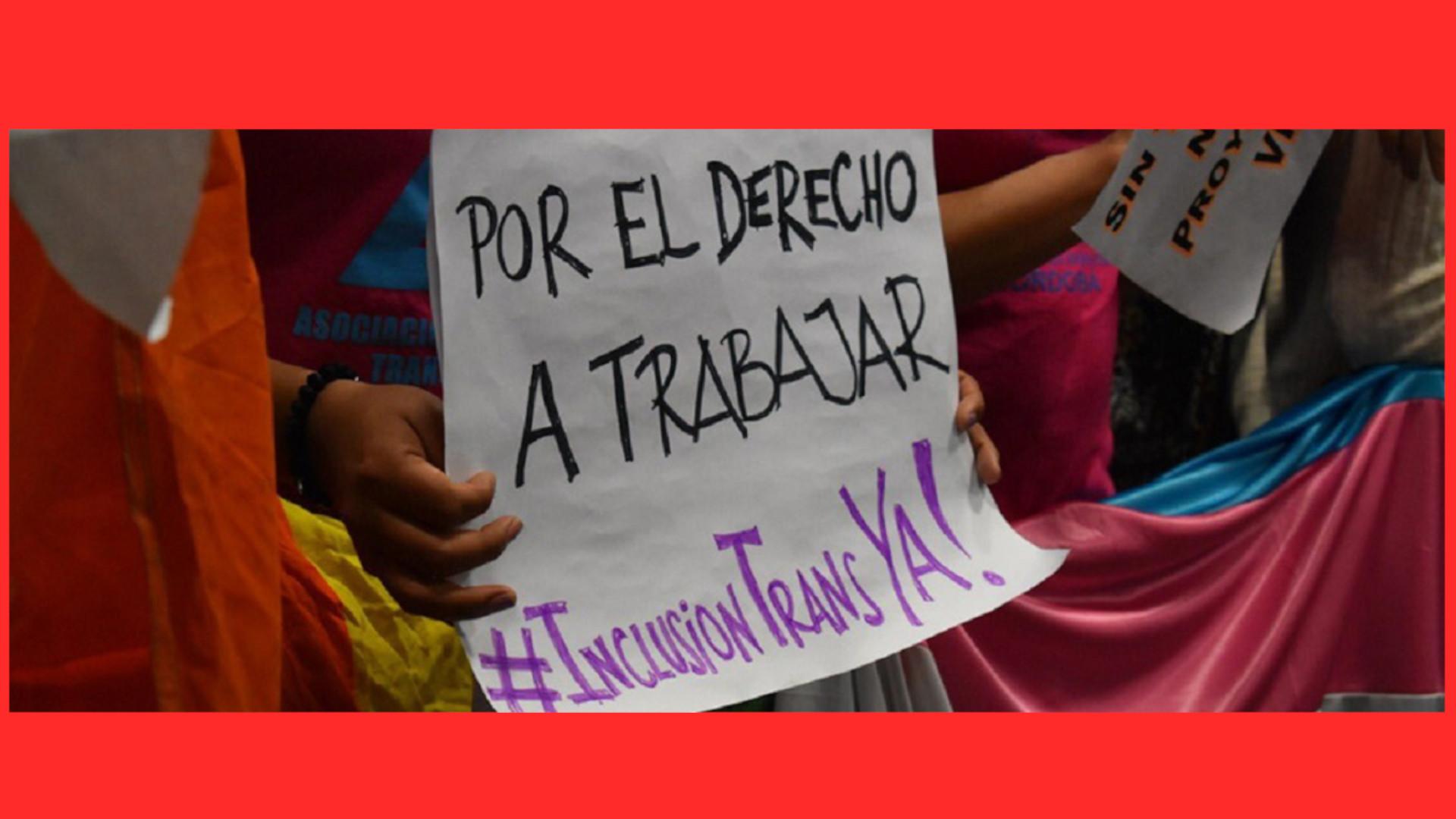 Inclusión laboral trans, necesaria y urgente para Argentina