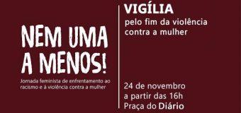 """24/11/16, 16h – """"Nem uma a menos"""" – Jornada Feminista de enfrentamento ao racismo e à violência"""