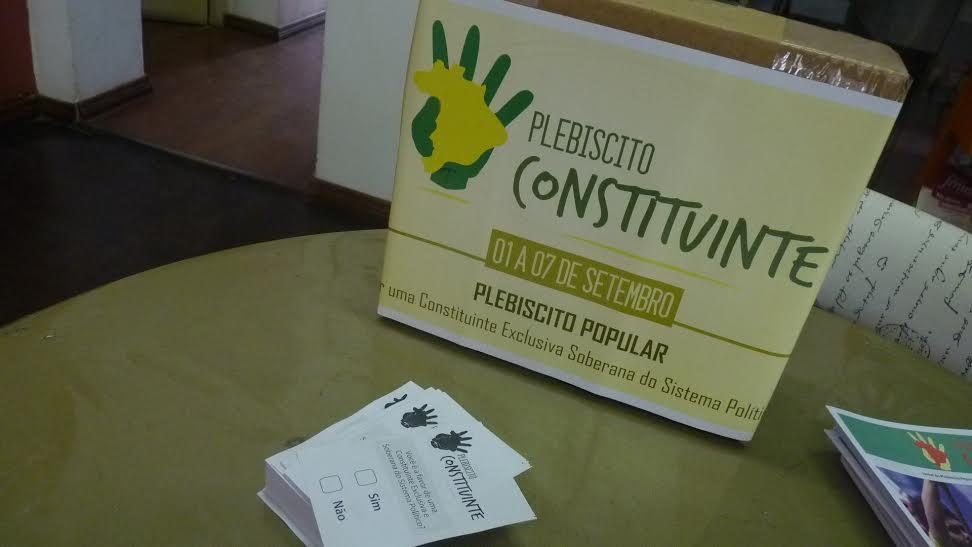 Resultado do Plebiscito Popular da reforma política será entregue esta semana